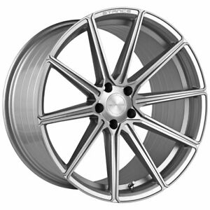"""20"""" Stance SF09 Silver 20x9 Concave Forged Wheels Rims Fits Volkswagen Passat"""