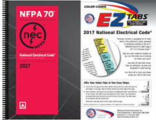 National Electrical Code (NEC) Spiralbound with Color Coded EZ Tabs, 2017 Ed