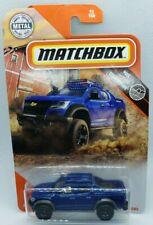 Matchbox 2020 Blue 16 Chevy Colorado Xtreme HTF