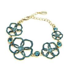 Enamel Chain/Link Flowers & Plants Costume Bracelets