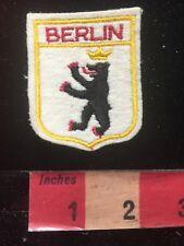 Felt Back BERLIN GERMANY Capital City Patch 82P6
