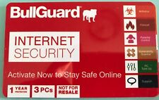 BullGuard Internet Security 2018 (1Year/3PCs) Genuine License Download Code