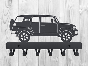 Key Rack FJ Cruiser holder Birthday Gift Metal Hanger Wall Hooks with Cars