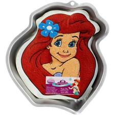 Disney ARIEL Princess Aluminium Cake Pan WILTON 2105-4355 Little Mermaid NEW