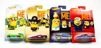 Hot Wheels: '17 Despicable Me Scale Diecast Cars - Lot Of 4, #1-4 | NIB
