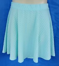 Ladies Mini Skirt Size 12 Mint Green Target Excellent Condition