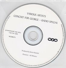 Concert For George - Radio Special - Various Artists - CD (Promo)