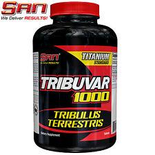 TRIBUVAR 1000 90 Tablets Tribulus Terrestris 90Servings Testosterone Booster GMP