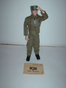 vintage GI Joe Talking Soldier action figure.complete! still talks!