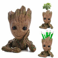 16CM Guardians of The Galaxy Baby Groot Figure Flowerpot Style Pen Pot With Box