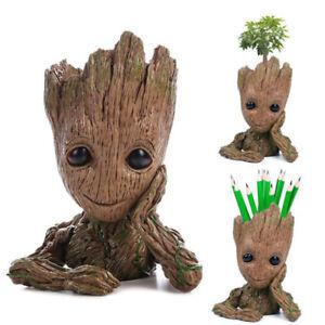 2018 NEW Q Version Dancing Potted Trees Landscape Bobble Head Figure Kids Toy