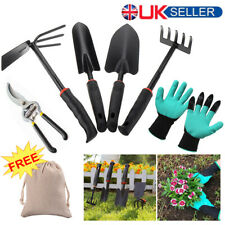 8Pcs Garden Stainless Steel Hand Kit Trowel Fork Shovel Home Gardening Tools Set
