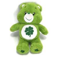 "Care Bear Stuffed Teddy Bear Green Shamrock Plush Animal Toy Gift 12.5"""