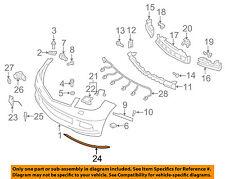 Mercedes MERCEDES-BENZ OEM C300 Front Bumper-Lower Molding Trim Right 2048850821