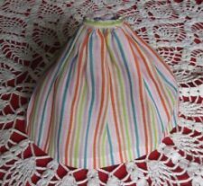 Vintage 1960's Barbie in Holland Striped Full-Length Skirt Doll Accessory