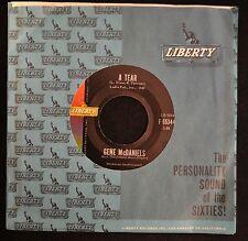 Gene McDaniels Liberty 55344 A Tear and She's Come Back