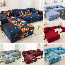 Home L Shape Stretch Sofa Covers Sectional Couch Cover Slipcover Protector