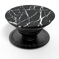 ORIGINAL POPSOCKETS Black Marble Popsocket Handyhalter