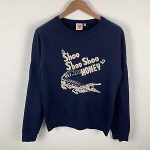Mens Blue Lacoste Live Sweatshirt Size Medium (4)
