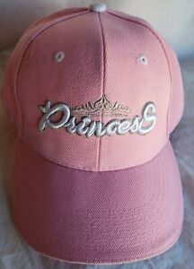Princess Pink Hat Cap Adult One Size Used