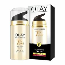 OLAY Total Effects7-In-One Anti-Ageing Day Cream for Normal Skin  SPF15 (50gm)