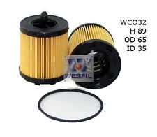WESFIL OIL FILTER FOR Saab 9-3 2.0L T 2002-2010 WCO32