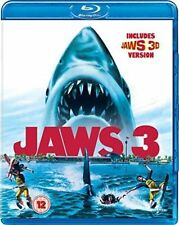 Jaws 3 Blu-ray 1983 Dennis Quaid