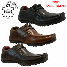 Red Tape Leather Upper Lace-up Casual Shoes for Men