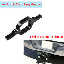 Tow Hitch Light Mounting Bracket Black Aluminum Alloy For Pickup Off Road SUV