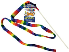 New listing Cat Dancer 301 Cat Charmer Interactive Cat Toy Rainbow