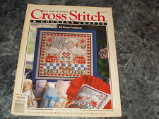 Cross Stitch & Country Craft Magazine January/February 1993 Country Welcome
