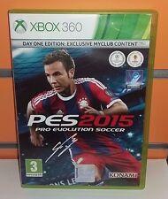 Pro Evolution Soccer 2015 (PES 2015) XBOX360 USATO ITA