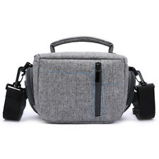 Retro Canvas DSLR Camera Bag Lens Insert Case Shoulder Bag For Canon Nikon Sony