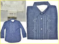 DIESEL Showroom Camicia Uomo S / 39 EU / 15 1/2 US Fino - 80 % DI06 N1G