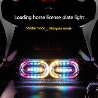Motorrad SMD 10 LED Rücklicht Bremslicht Blinker Signallicht Streifen Licht Neu