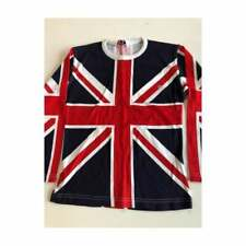 """Union Jack Ladies long sleeve all over print T shirt  size 32"""""""
