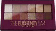 Maybelline The Burgundy Bar Lidschatten Palette 12 Nuancen Gold Kupfer Beere