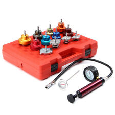 14Pcs Radiator Pressure Cooling System Leak Tester Water Tank Adapter Detector