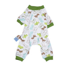 Pet Dog Cartoon Patterns Cotton Pajamas Shirt Tracksuit Jumpsuit Apparel Costume