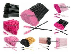 Disposable Eyelash Brushes Mascara Wands Eyebrow Spoolie Applicator Cosmetic Kit