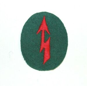 WWII German Signals Artillery Trade Badge