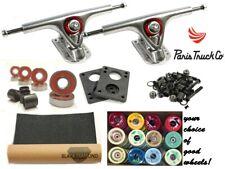 PARIS trucks Longboard complete set up + Wheels + Bearings + screws+subVert grip