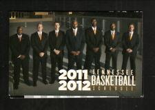 Tennessee Volunteers--2010-11 Basketball Pocket Schedule--UT Medical Center