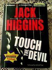 TOUCH THE DEVIL~JACK HIGGINS UNABRIDGED AUDIOBOOK~6 Discs~NEW/SEALED~FREE SHP!