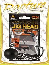 testina piombata Rapture Power micro Jig head softbaits gr. 0.8-gr 4