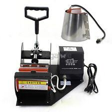 2 In 1 Cone Coffee Mug Cup Sublimation Heat Press Transfer Machine DIY Printer