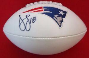 Donte Stallworth Signed New England Patriots NFL Super Bowl Football