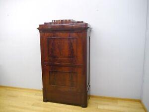 Empire Biedermeier Schrank Blender Kleiderschrank Mahagoni zerlegbar um 1820