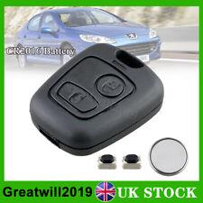 For Peugeot 107 207 307 2 Button Remote Key Fob Case Repair Refurbishment Kit