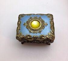 Vintage Little Princess Trinket Box with Jewel